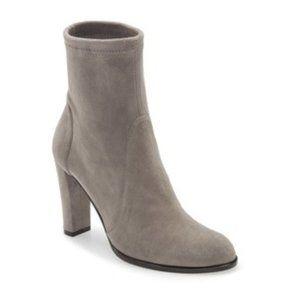 NEW STUART WEITZMAN Highland Suede Leather Sock Boots